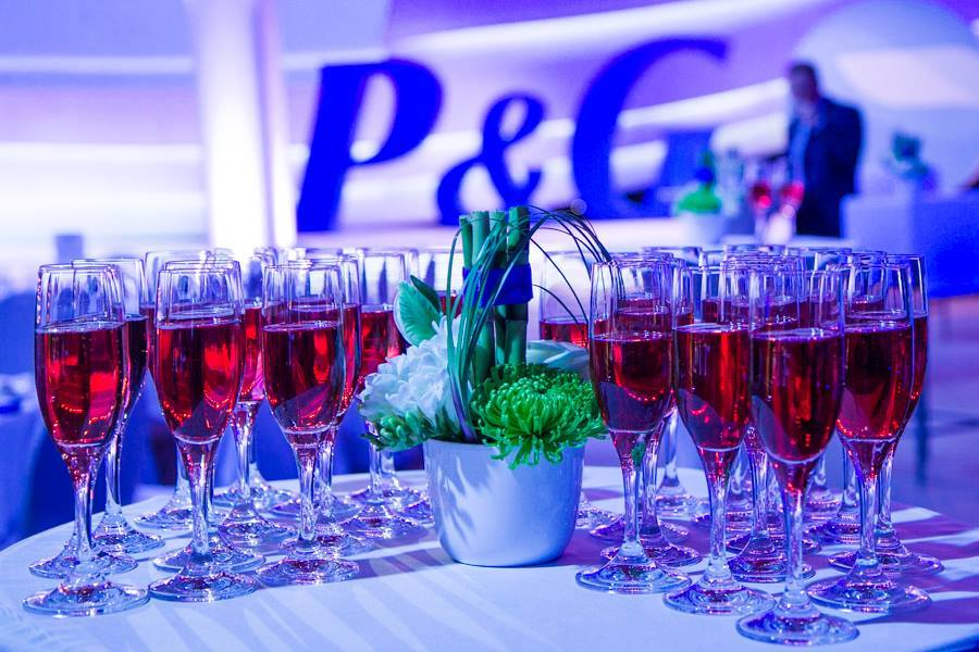 Procter & Gamble - catering